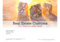 Guide to Real Estate Customs by State